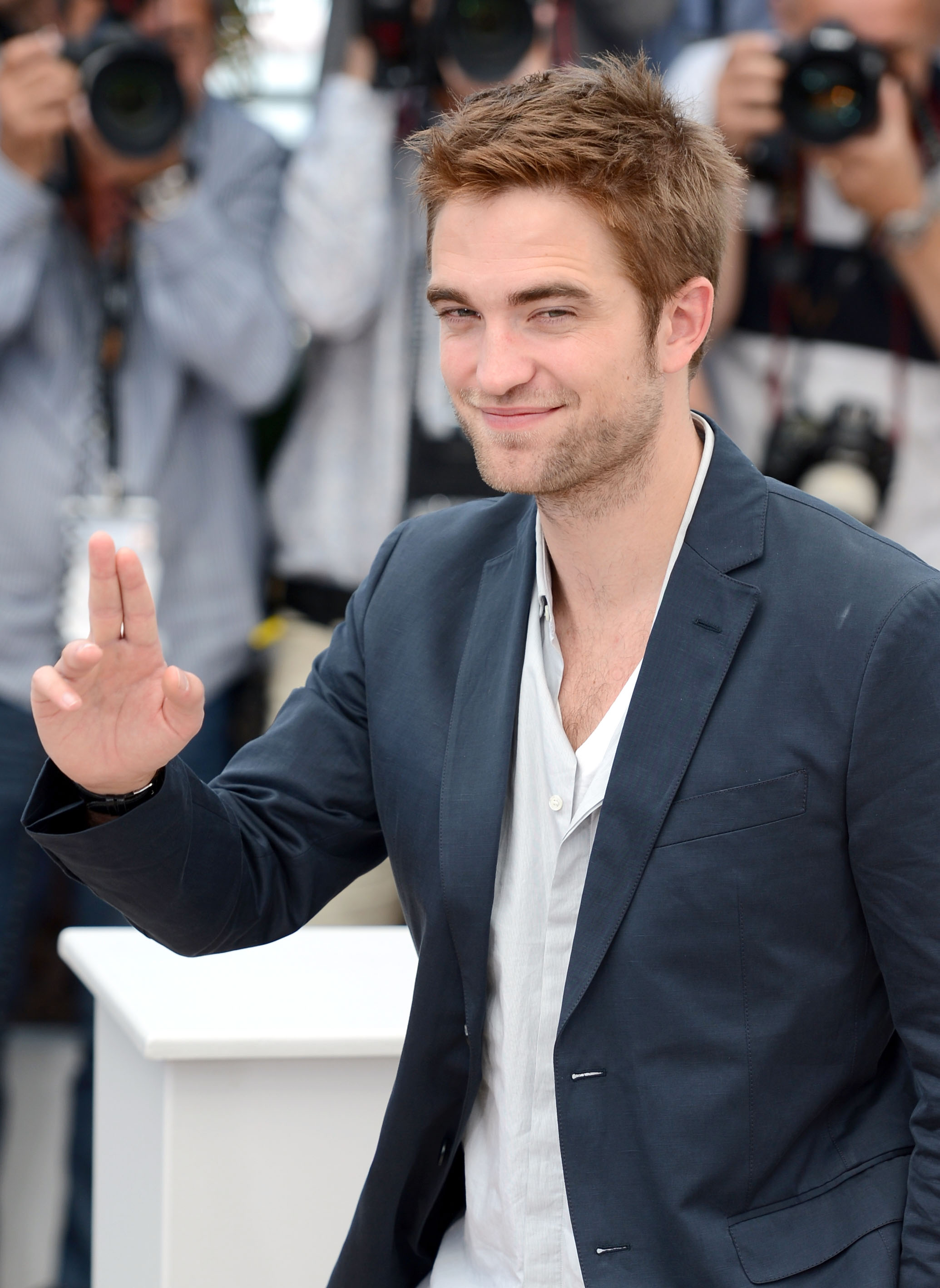 COSMOPOLIS - ROBERT PATTINSON PHOTOCALL- SPÉCIAL CANNES (2012)