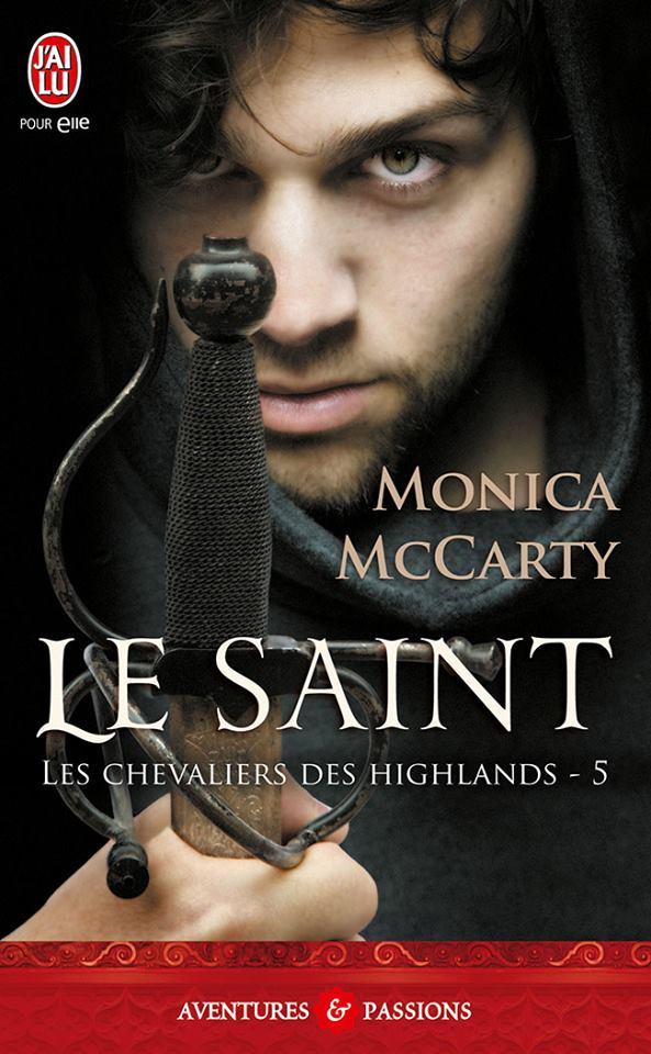 Carnet de lecture de LaMarquise Les-chevaliers-des-highlands-t5-le-saint-de-monica-mccarty