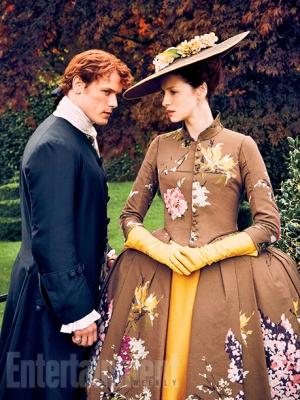 Outlander saison 2 - Jamie et Claire 2